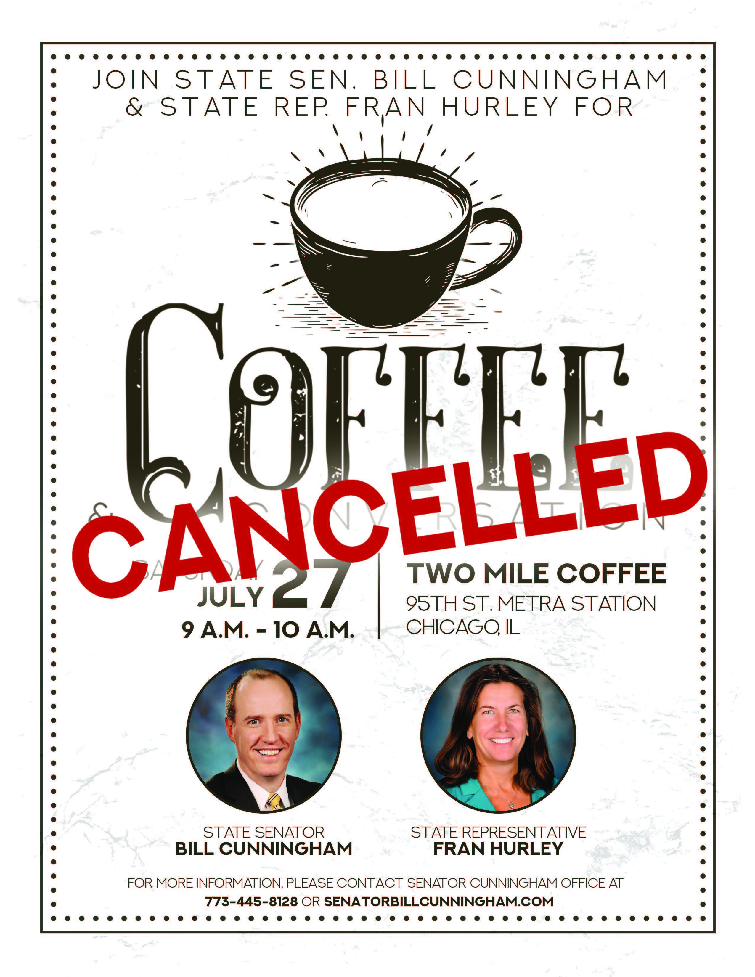 Coffee and Convo 3 7.27.19 cancel