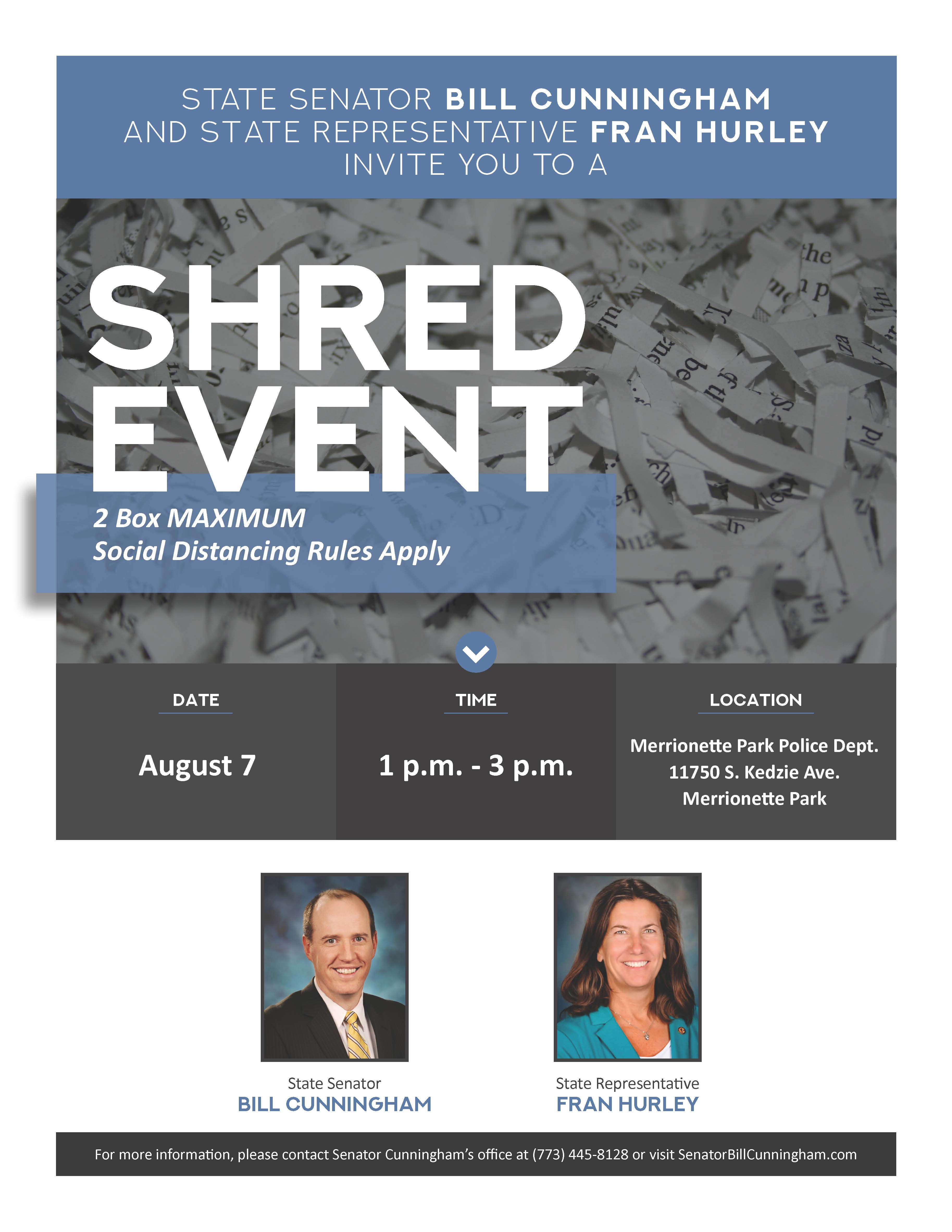 Shred Event 8.7.20